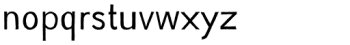 YWFT Absent Grotesque Light Font LOWERCASE