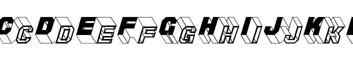 ZigZagTwo Font UPPERCASE