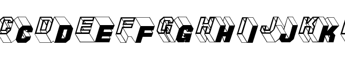 ZigZagTwo Font LOWERCASE