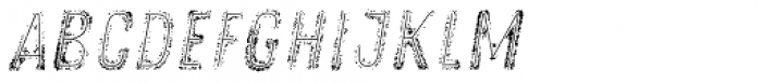 Zing Rust Grunge3 Fill2 Line Font LOWERCASE