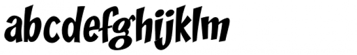 Zoinks Font LOWERCASE