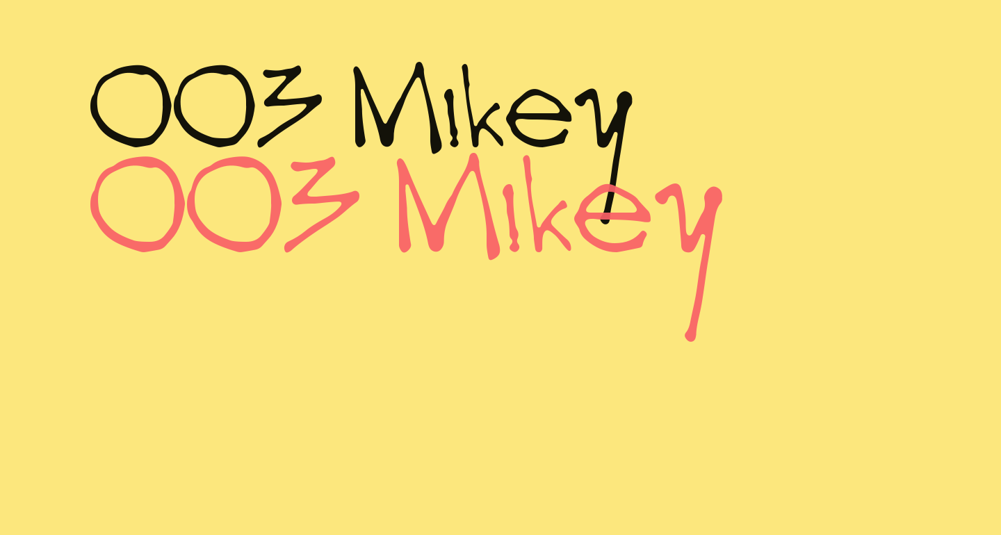 003 Mikey