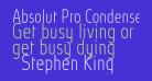 Absolut Pro Condensed Thin reduced