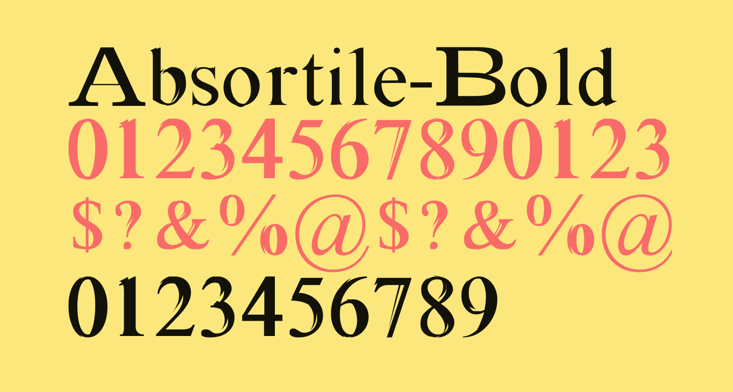 Absortile-Bold