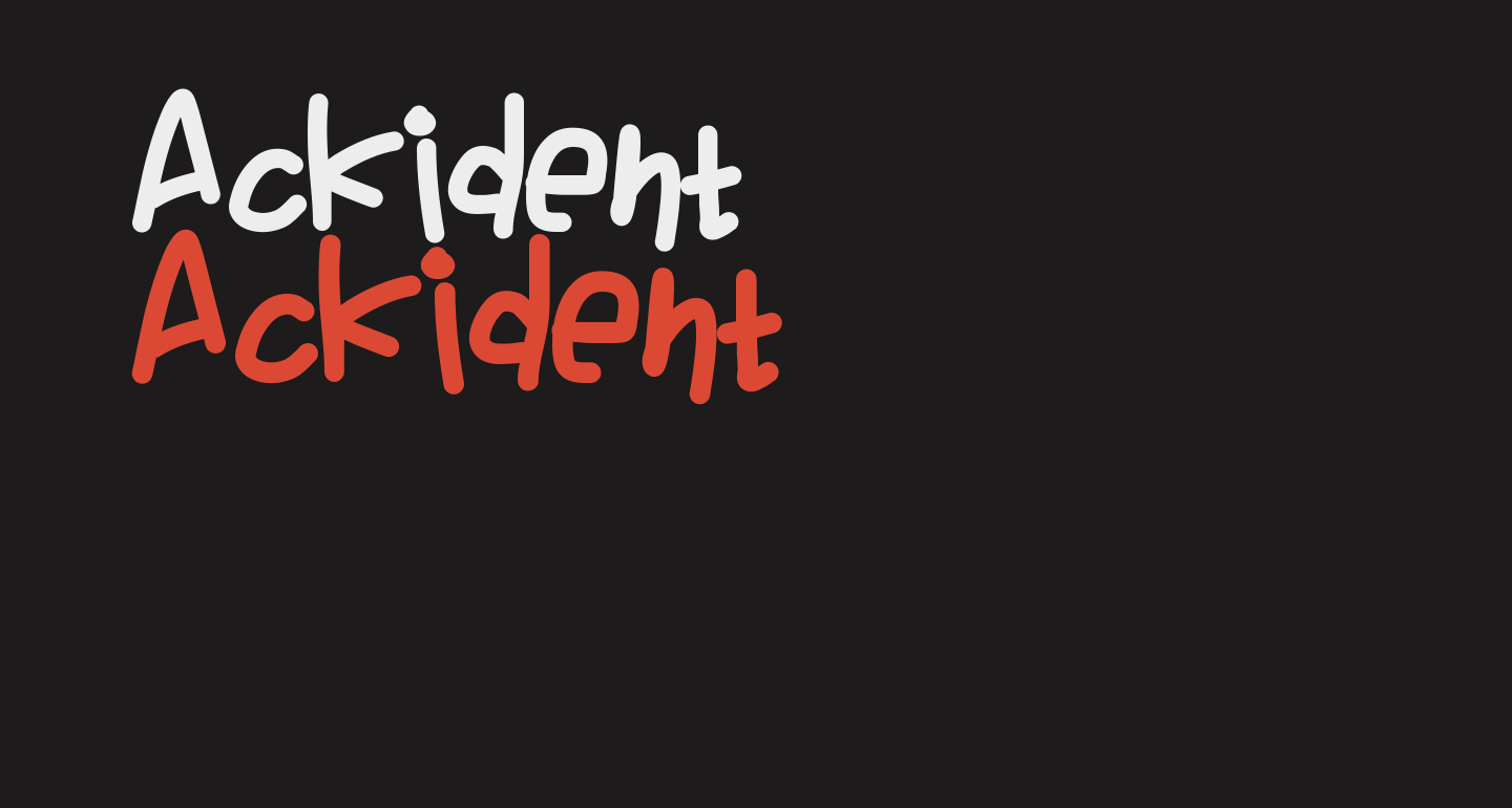 Ackident