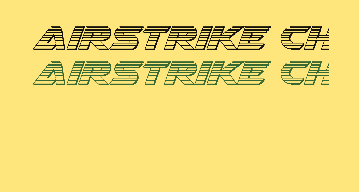Airstrike Chrome Regular