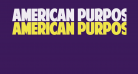 American Purpose STRIPE 1 Normal