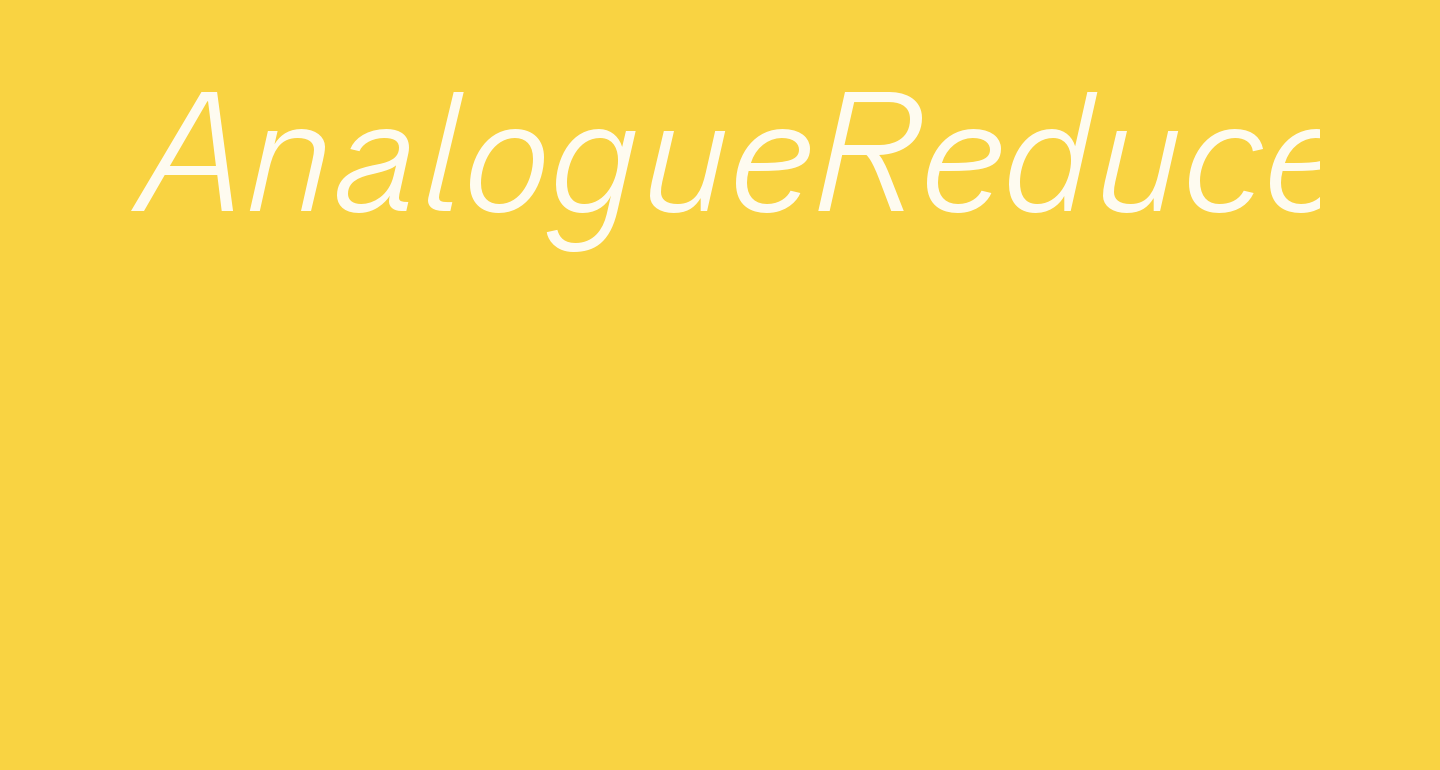 AnalogueReduced-LightOblique
