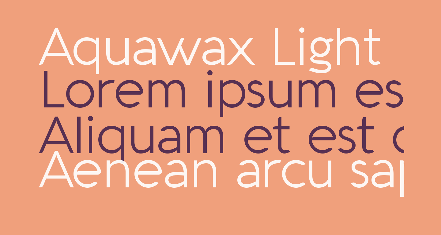 Aquawax Light