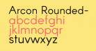 Arcon Rounded-Regular