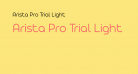 Arista Pro Trial Light