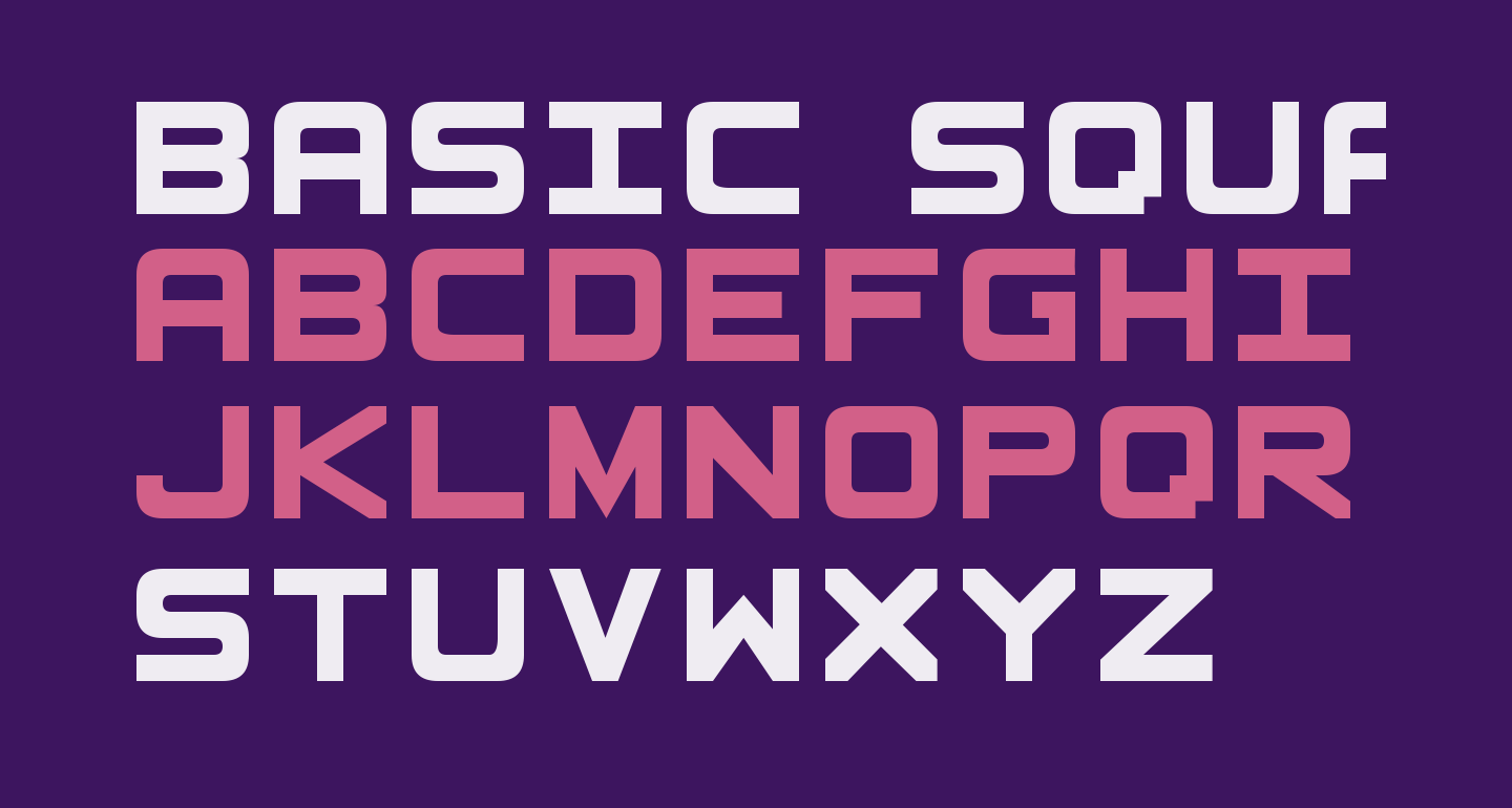 Basic Square 7 Solid