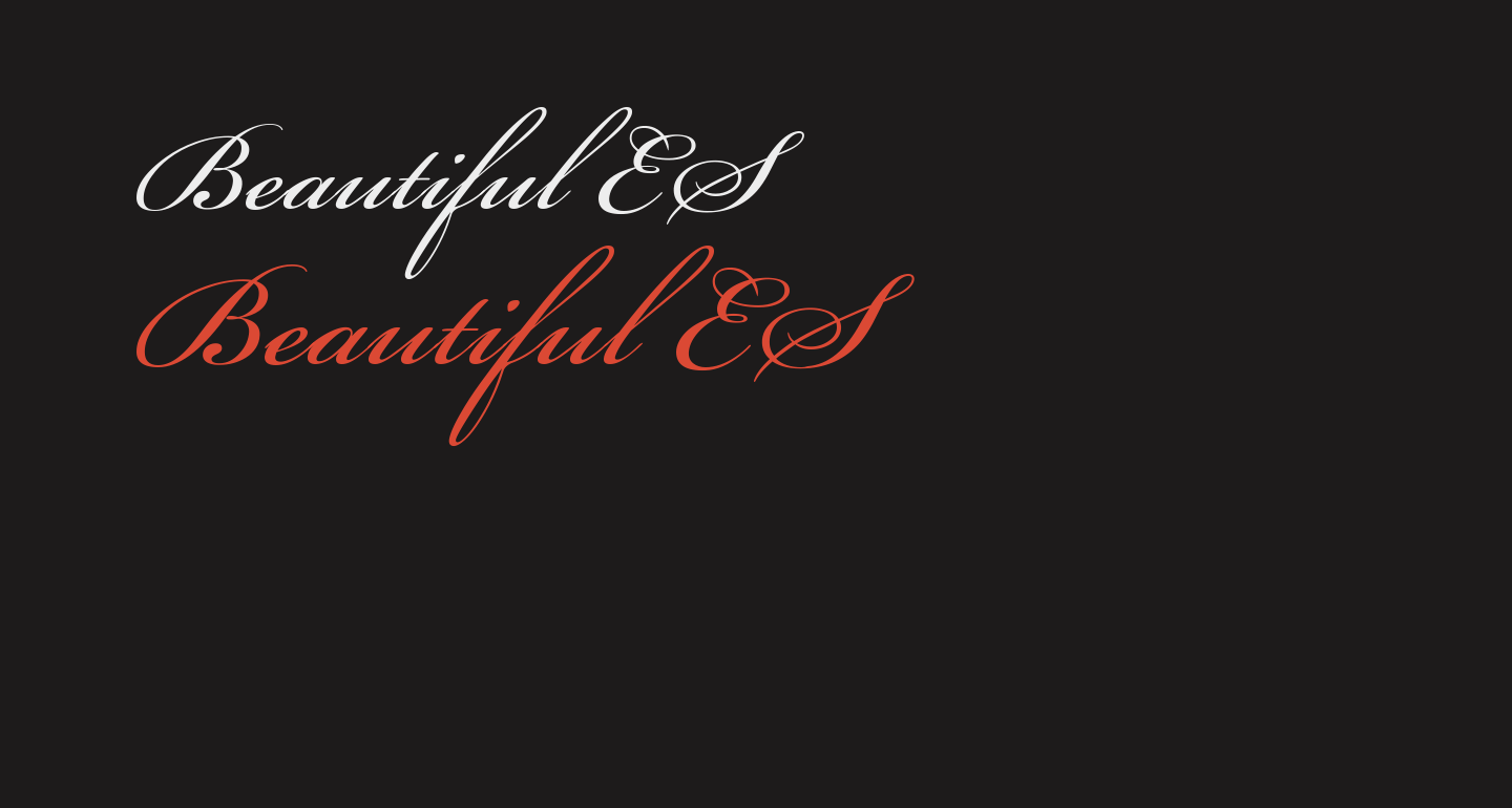 Beautiful ES