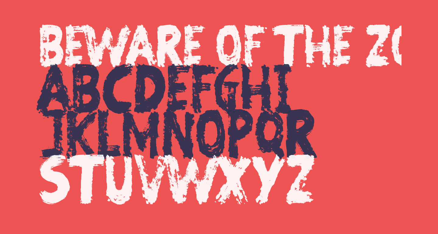 Beware of the Zombies