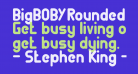 BigBOBY Rounded