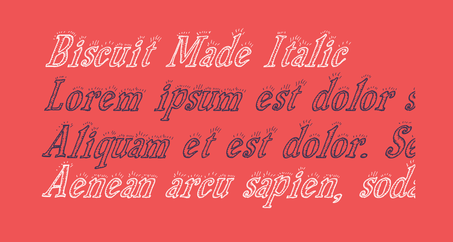 Biscuit Made Italic