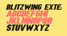 Blitzwing Extended Italic