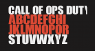 Call Of Ops Duty