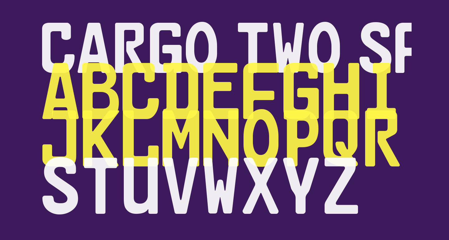 Cargo Two SF