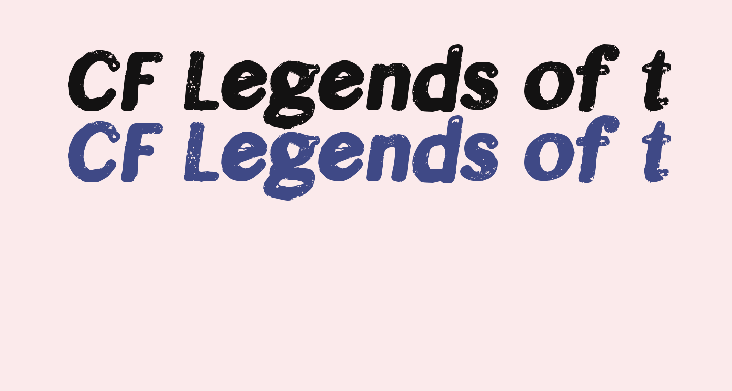 CF Legends of the Fall Regular