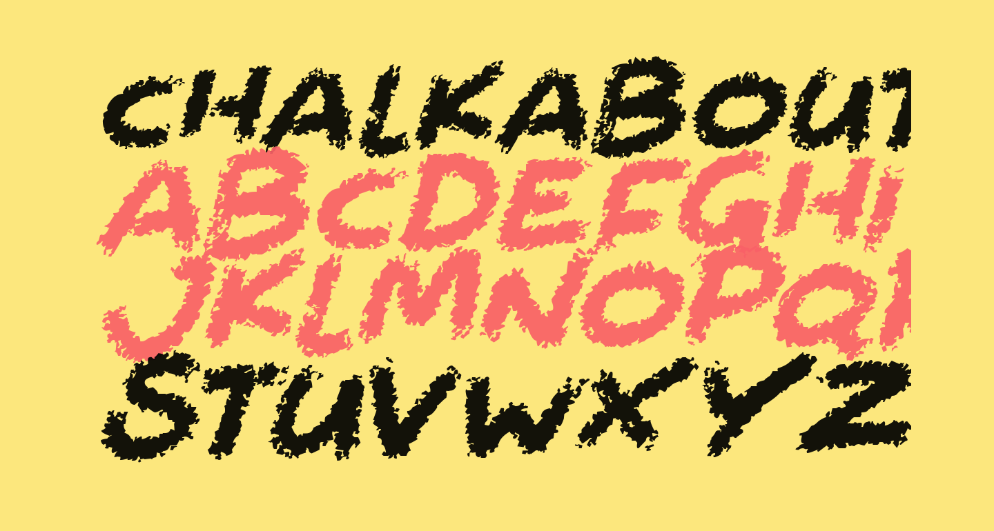 Chalkabout Italic