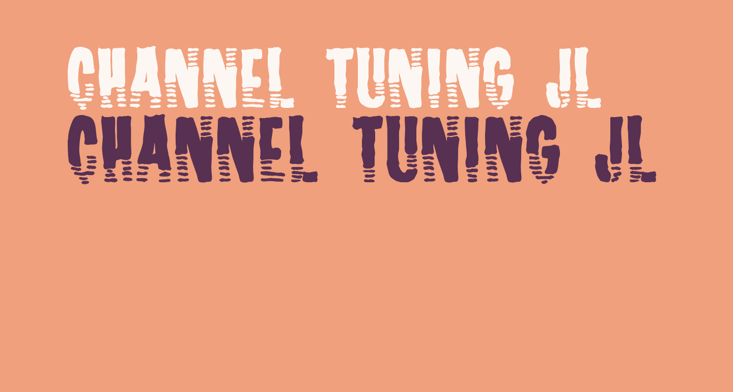 Channel Tuning JL