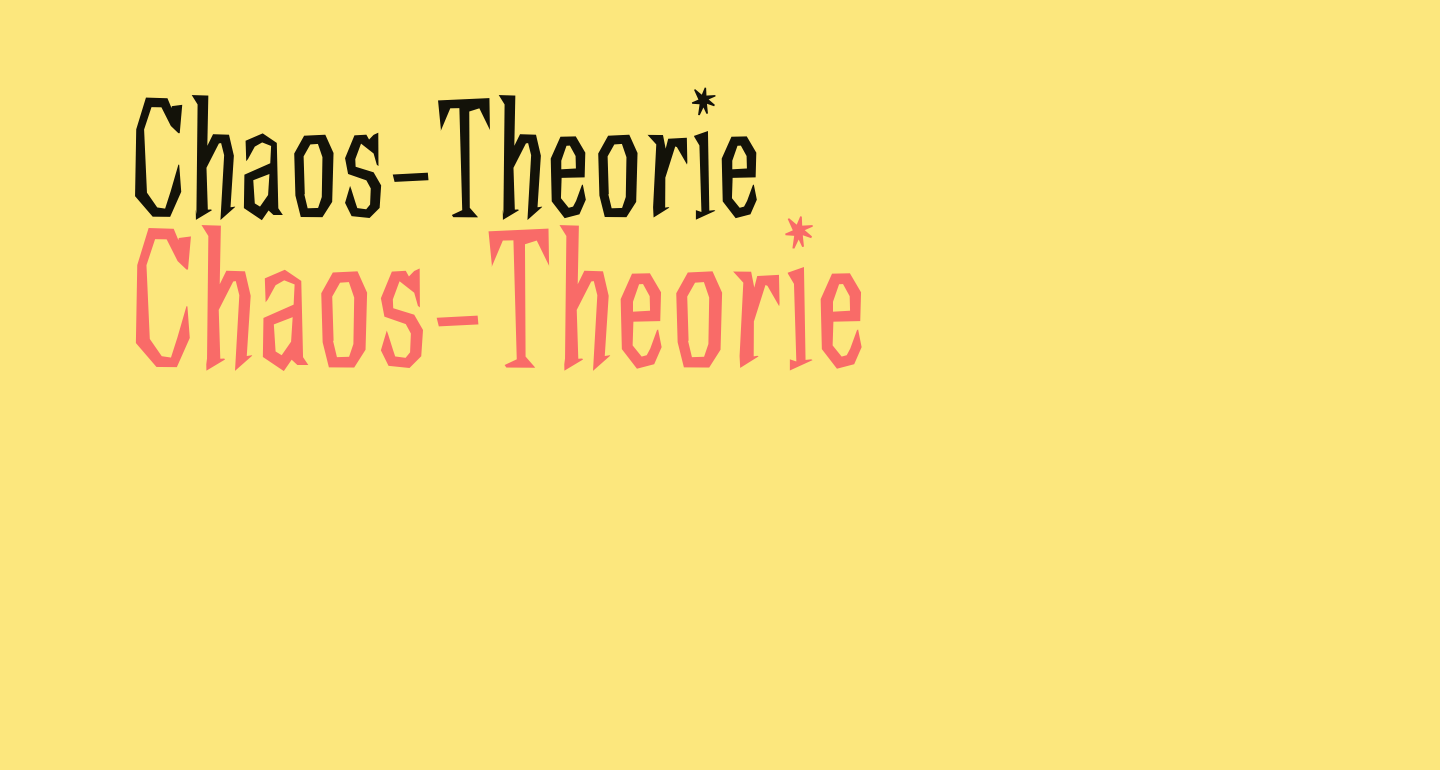 Chaos-Theorie