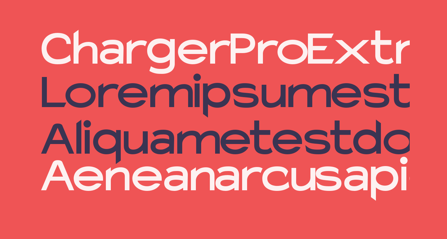 Charger Pro Extrabold SuperExtended