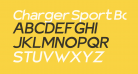 Charger Sport Bold Extended Oblique