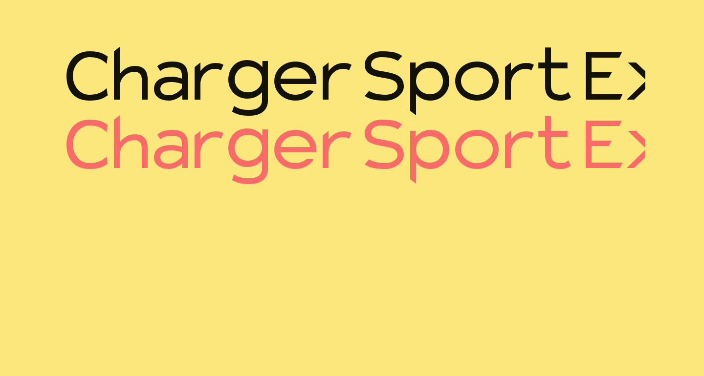 Charger Sport Extended