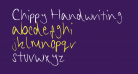 Chippy Handwriting