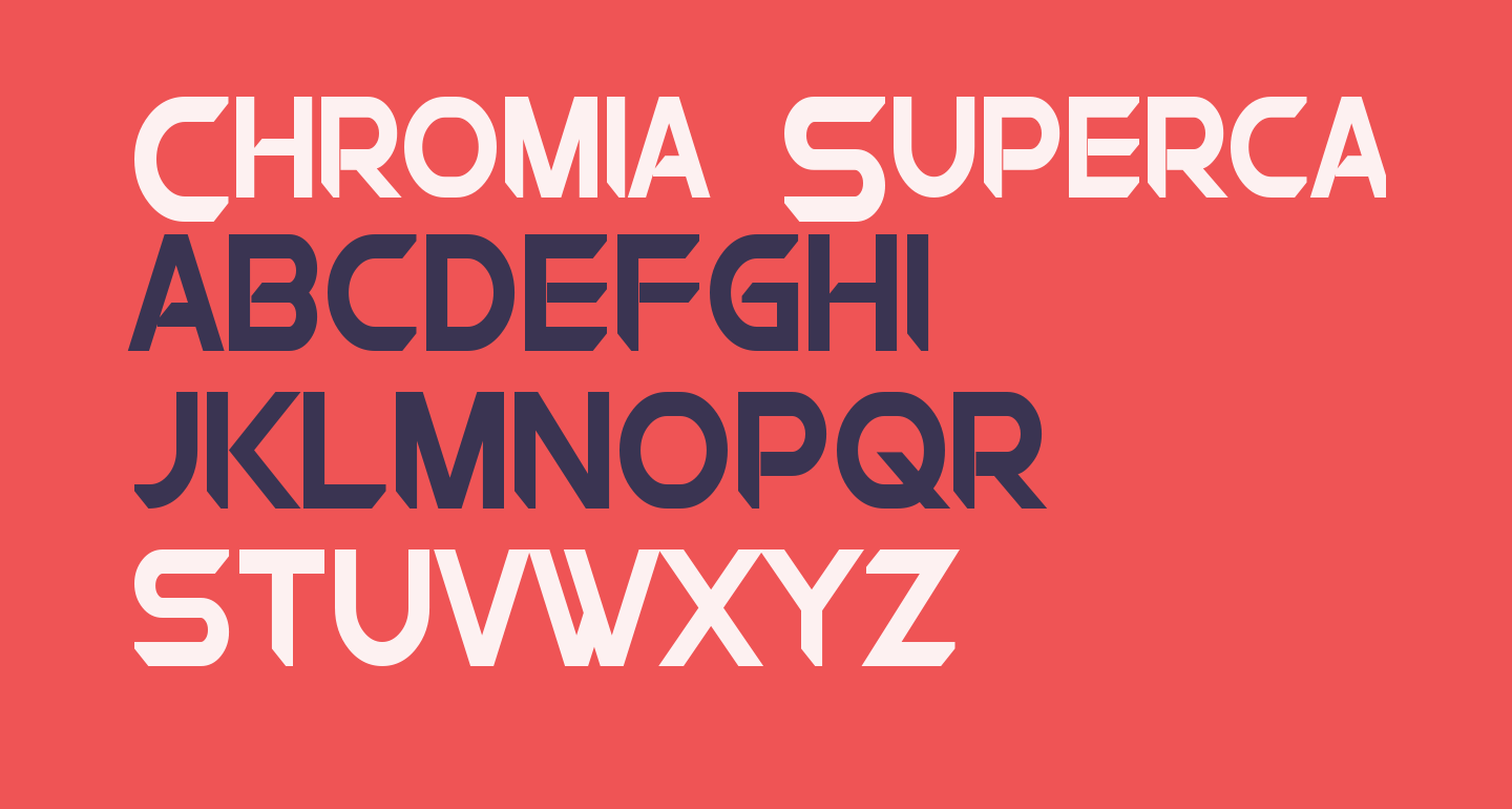 Chromia Supercap Condensed Bold