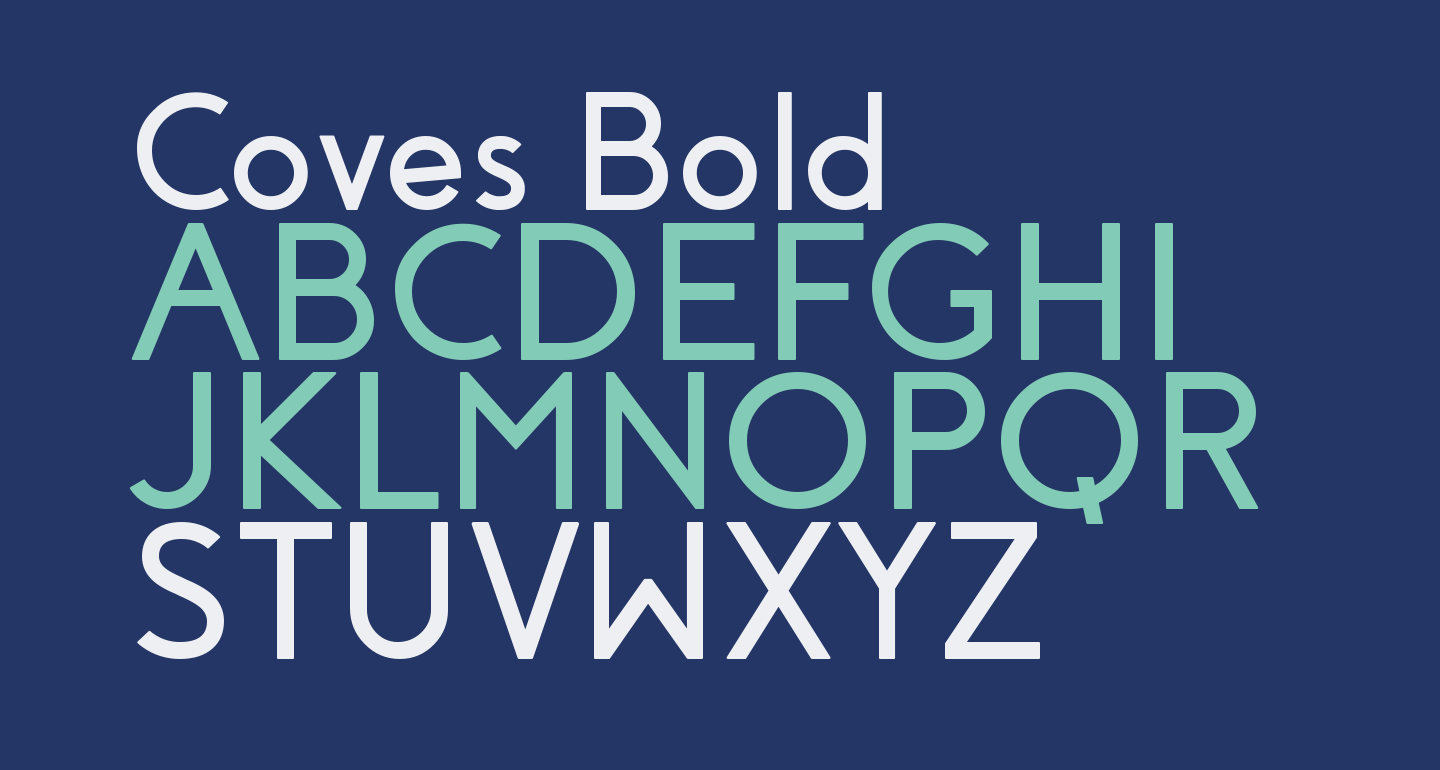 Coves Bold