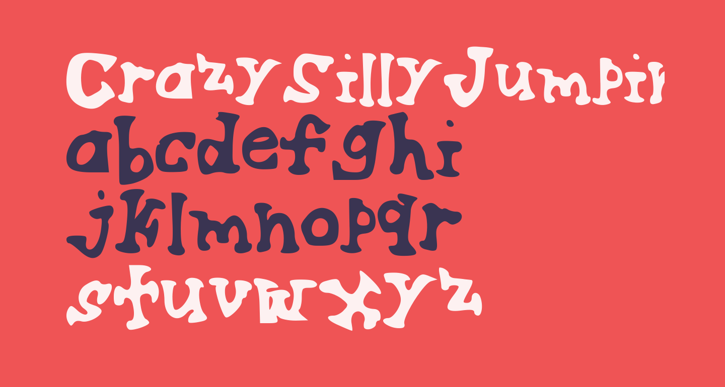 CrazySillyJumpingSerif