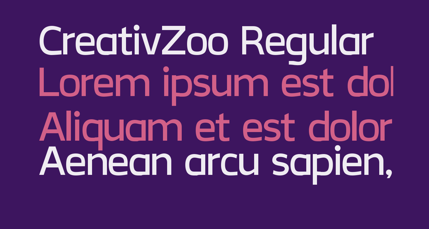 CreativZoo Regular