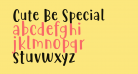 Cute Be Special