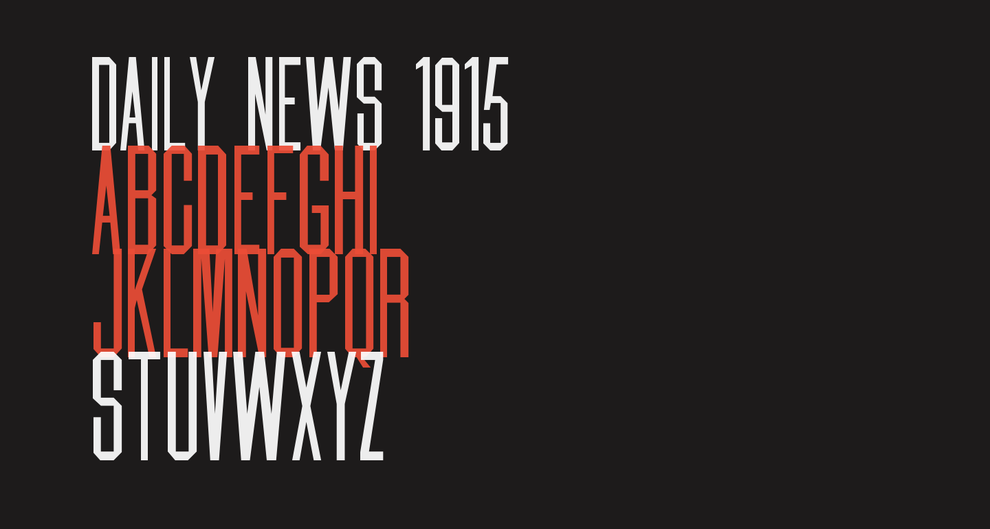 Daily News 1915