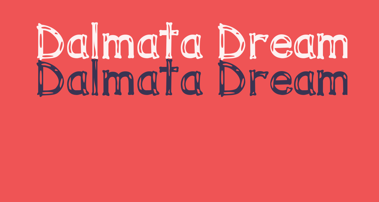 Dalmata Dream Bold