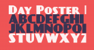 Day Poster Black NF