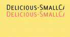 Delicious-SmallCaps