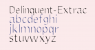 Delinquent-Extract