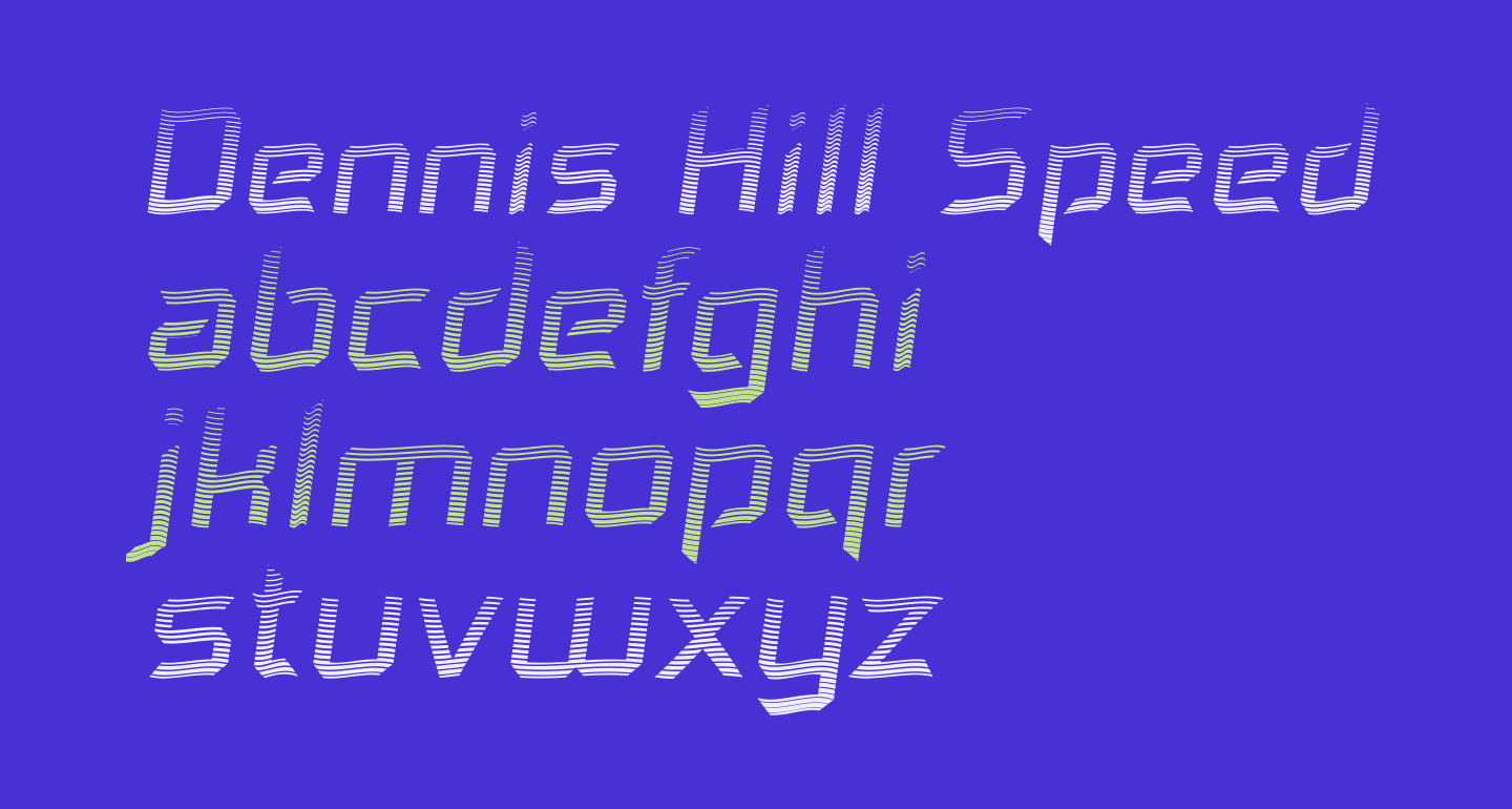 Dennis Hill Speeding