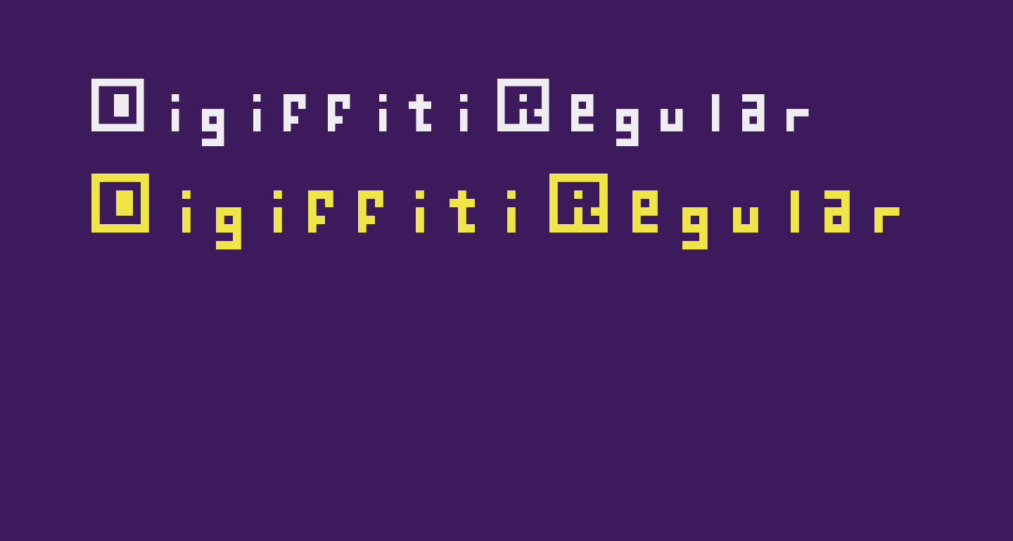 Digiffiti Regular