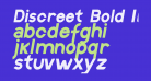 Discreet Bold Inclined