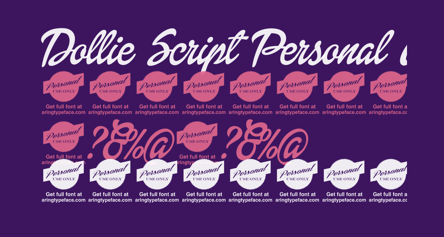 Dollie Script Personal Use