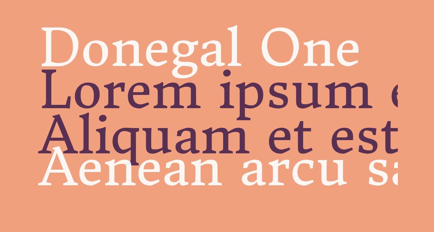 Donegal One