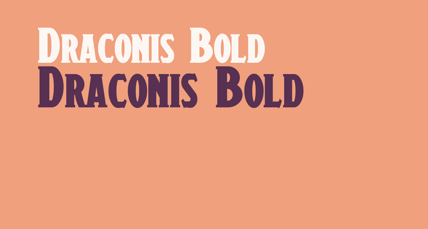 Draconis Bold