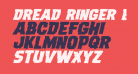 Dread Ringer Expanded Italic