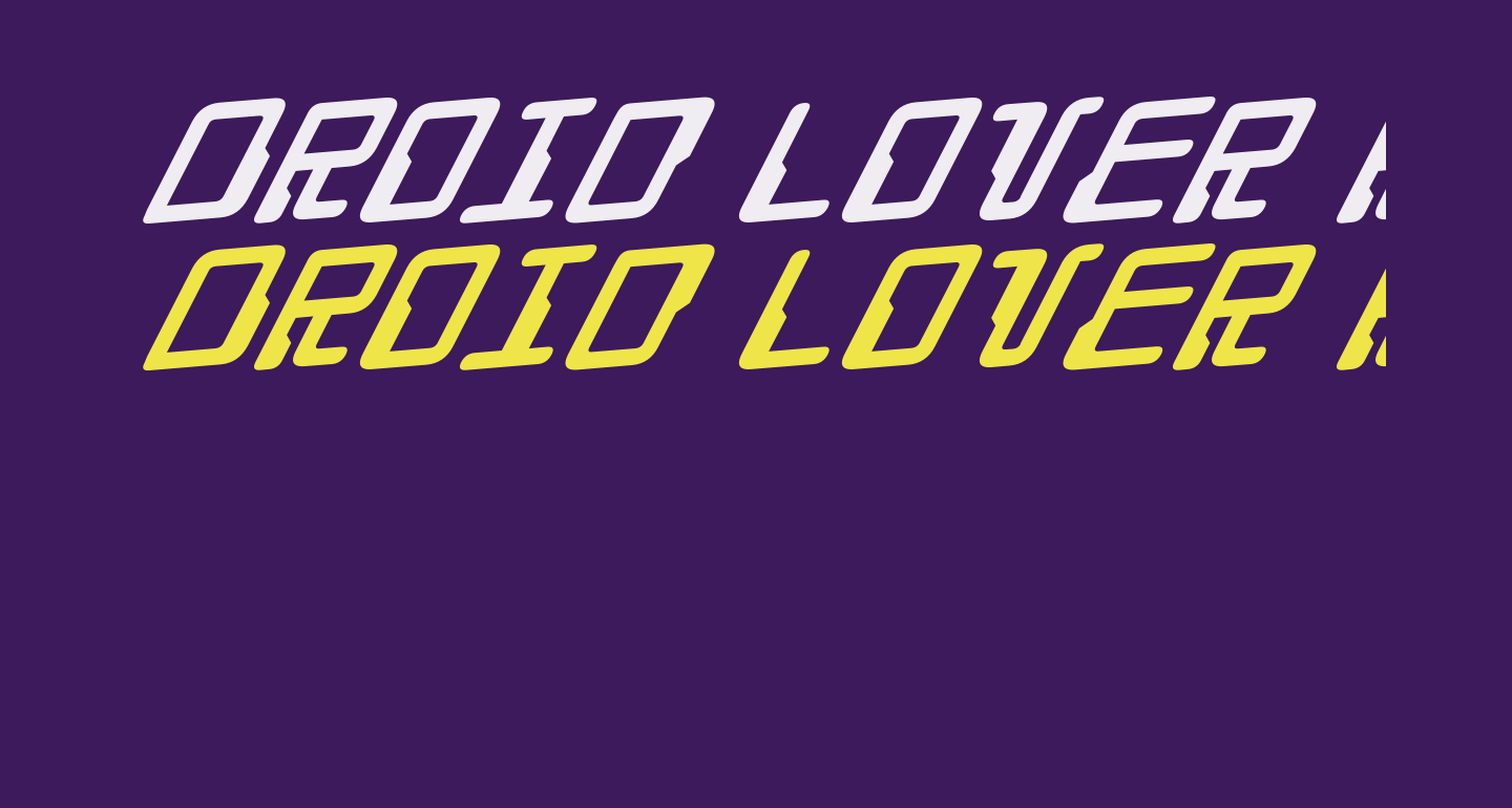 Droid Lover Rotalic