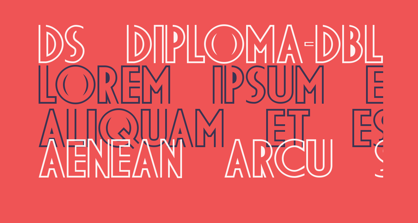 DS Diploma-DBL Bold